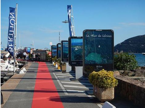 The La Napoule Boat Show takes place in Port La Napoule, France, 14th-18th April