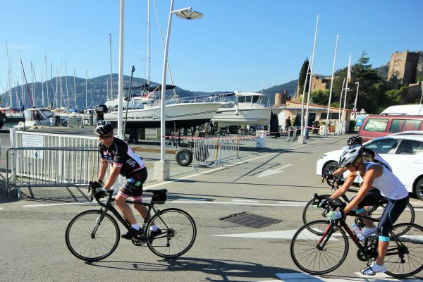 The COCC peloton included some of our very own Sunseeker London Group riders