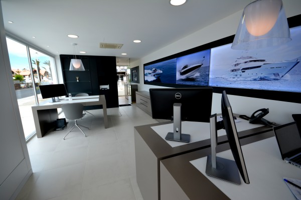 The brand new offices of Sunseeker Portugal