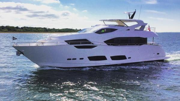 The new Sunseeker 95 Yacht exemplifies the latest in our cutting-edge design and innovative build processes, showcasing the exciting new design direction that our next generation of larger yacht models will take