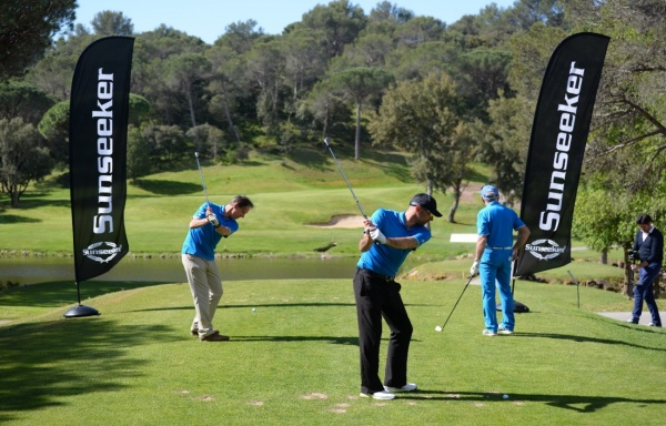 "The golf tournament itself was a great success and the charity auction raised generous donations for ""Tous Derrière Léa"""