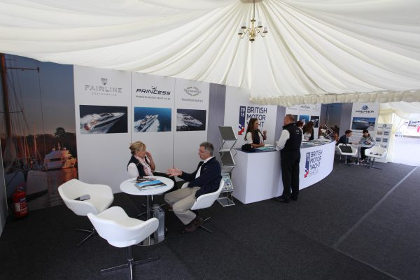 Come and visit Sunseeker during the British Motor Yacht Show in Southampton