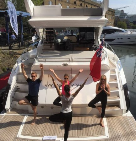 The Yacht Fitness workouts and massage therapy can be performed on your yacht, but Yacht Fitness can also bring the training sessions to various locations where you and your party are travelling.