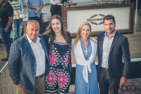 The event brought all smiles to the Sunseeker Hellas staff as well as to its guests