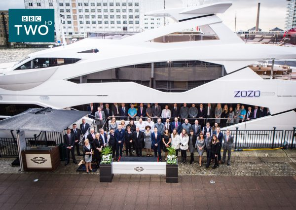 The Sunseeker team at the London Boat Show 2016