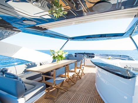 The Sunseeker 28 Metre Yacht ICHIBAN