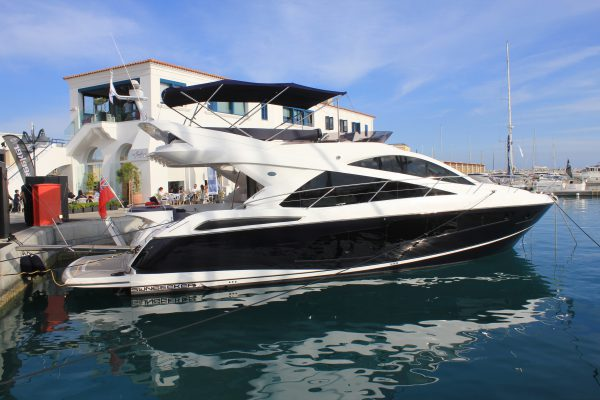 The Sunseeker Manhattan 55 in Limassol Marina