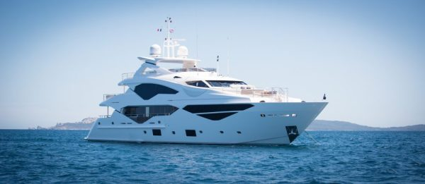 The Sunseeker 131 Yacht 'JACOZAMI'