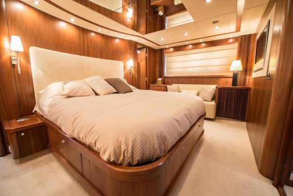 'HIDEAWAY' is a Sunseeker Predator 82 in pristine condition