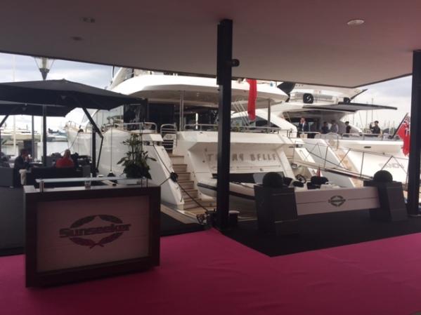 The Sunseeker 28 Metre Yacht 'Tommybelle'
