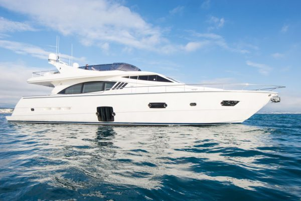 The beautiful 2012 Ferretti 750 yacht