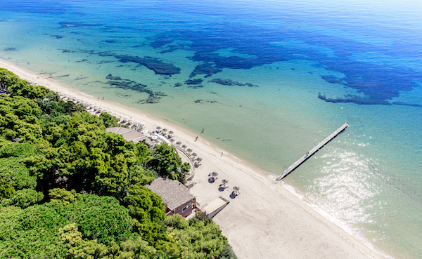 With pristine long white sandy beaches, the resort is set in 47 hectares of beautiful lush gardens, just 40 minutes from Cagliari International Airport served directly by British Airways