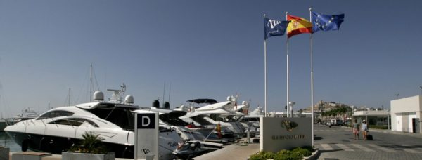 Sunseeker Yachts and Boats are proud to call Ibiza Marina their home