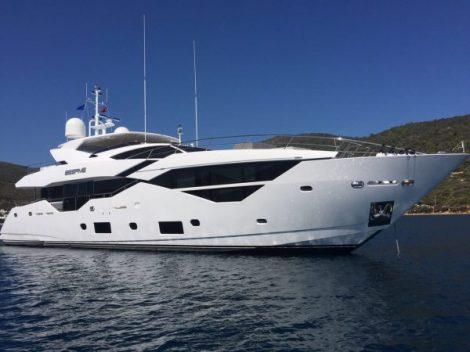Sunseeker Turkey's first Sunseeker 116 Yacht in all her glory
