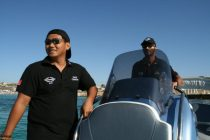 Guests enjoying themselves at Sunseeker Sundowners