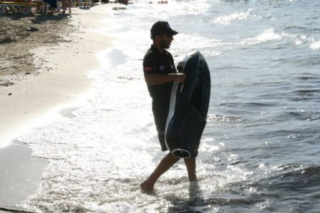 Seabobs were enjoyed by guest at Baia Beach Club