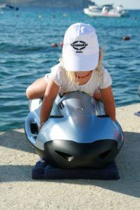 Sunseeker Malta's youngest Seabob fan