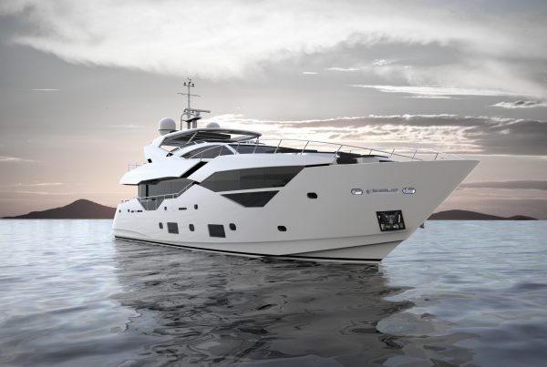 The Sunseeker 116 Yacht will be on display at Cannes Yachting Festival and Monaco Yacht Show