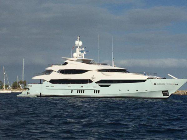 The impressive Sunseeker 115 Yacht 'BLUSH'