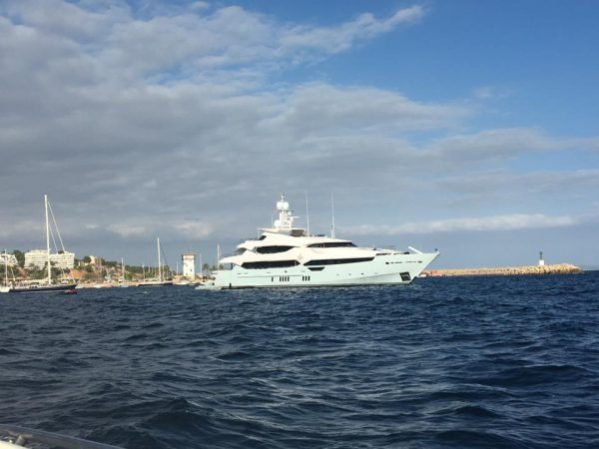 BLUSH was spotted twice in Mallorca in just two weeks