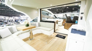 Interior of the Sunseeker Predator 57