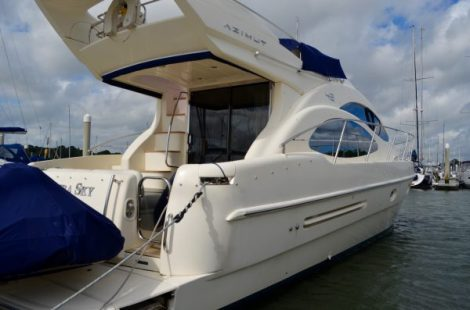 Azimut 42 Evolution 'AZURA SKY'