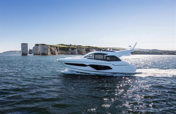Sunseeker Manhattan 52 will be making her Spanish debut at the Barcelona Boat Show