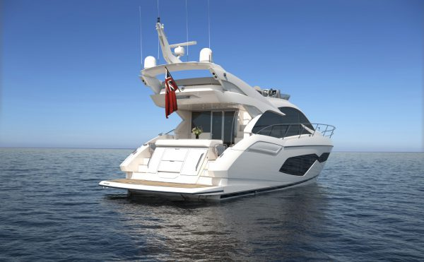 The rear of the NEW Manhattan 52