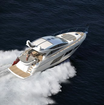 Exterior of Sunseeker Predator 57