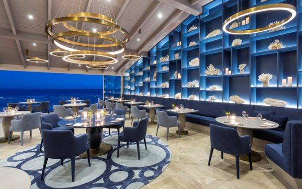 Vila Vita's extraordinary two star Michelin restaurant, Ocean