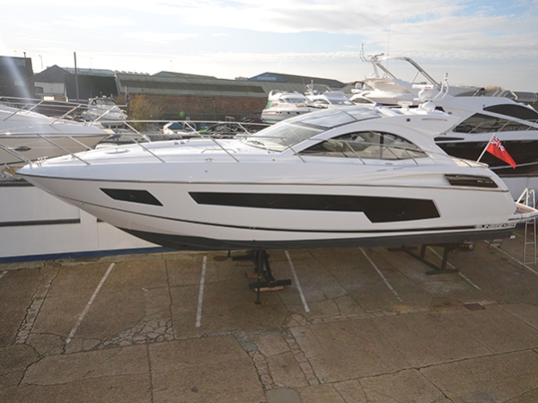 The centrally listed 2014 Sunseeker San Remo 485 'STEFLIN'