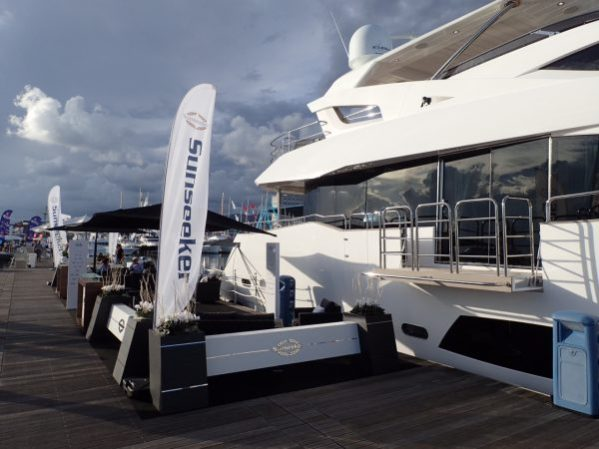 Sunseeker France Group and Sunseeker Monaco are pleases to be back on Italian waters