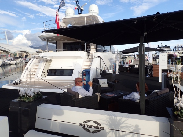 Make sure to visit the Sunseeker stand at Genoa Boat show 20th-25th September