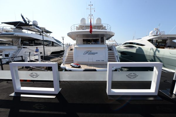The Cannes Yachting Festival got off to an electric start!
