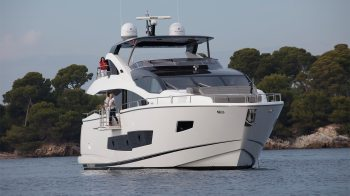 The stunning 86 Yacht is now in build for her new owners