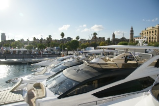 Come and visit the Sunseeker Stand at the iconic Port Vell in Barcelona