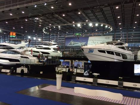 Come and visit the Sunseeker London Group on the stand that the Dusseldorf Boat Show