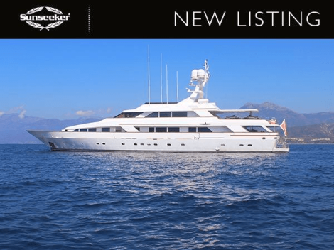 """The stunning 46m Benetti """"MISTRESS"""" is asking EUR5,200,000 Tax Paid."""