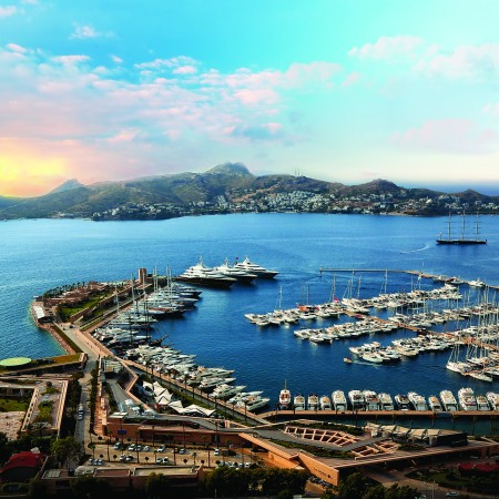 The new Sunseeker Turkey Office will be located in the picturesque Palmarina