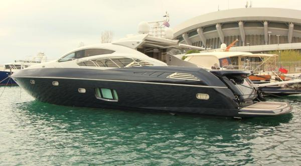 2009 Sunseeker Predator 74 'LITTLE MARY' was bespokely and stylishly designed