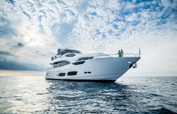 The Sunseeker 95 Yacht will be the biggest Yacht at the stand
