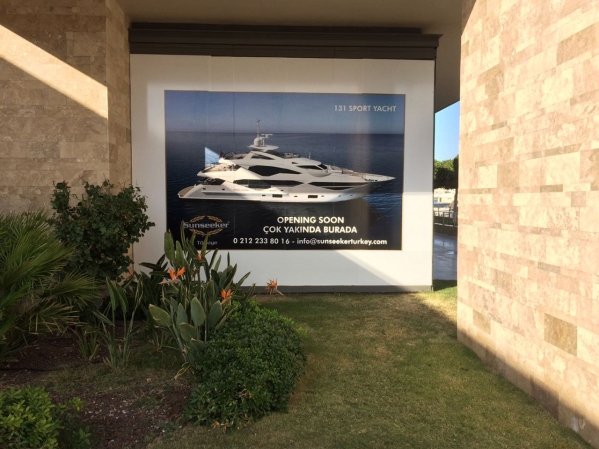 The Sunseeker London Group are very excited to see what the new Sunseeker Turkey office will look like!