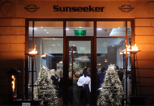 Sunseeker London hosted an office party last Thursday for Porto Montenegro
