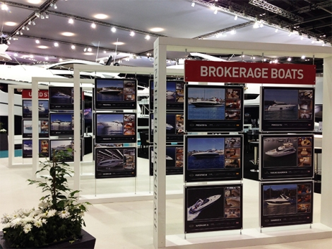 Sunseeker Brokerage often has a stand at our events that take place around Europe and Northern Africa, it especially has a presence at Boat Shows that the Sunseeker London Group takes part in