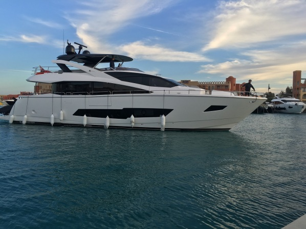 Sunseeker Egypt were delighted with the very successful handover of Sunseeker 86 Yacht 'FAFY'