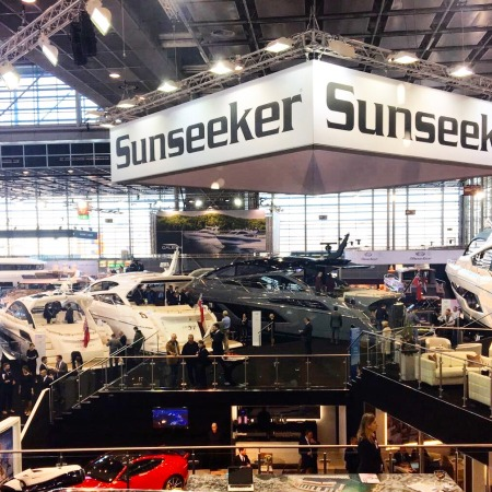 The Sunseeker stand at Boot Dusseldorf is open Saturday and Sunday from 10am-6pm in Hall 6, B61, make sure to come and visit us!