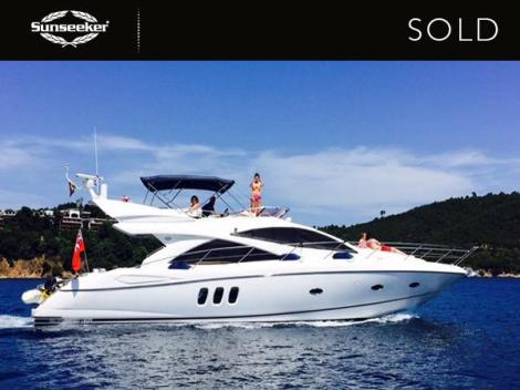 "Sunseeker Manhattan 50 ""Funseeker"" was sold to her new owner in mid-December!"