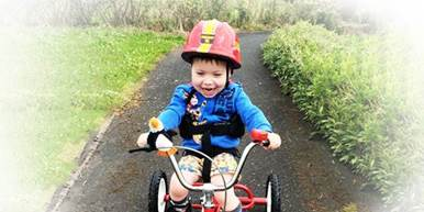 If you want to make more children happy like Oliver, please sign up to join the London Marathon with Caudwell Children today!