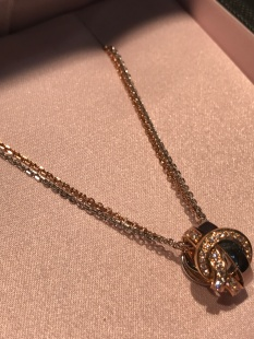 A classic, stylish pendant from Boodles' new Knot collection.