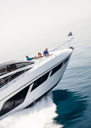 The Predator 57 is a great boat for all the family to enjoy